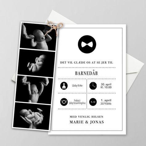 Barnedabsinvitationer Fa Designet Dine Helt Egne Invitationer Til Barnedab Med Billeder Invitationer Barnedab Design