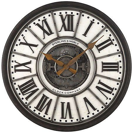 Global Living Room Bed Bath Beyond Gear Wall Clock Clock Wall Clock