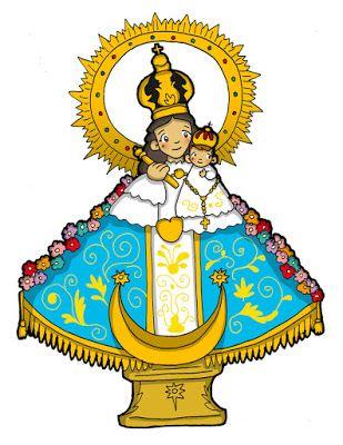 Dibujos Para Catequesis Virgen Del Rosario De Talpa Imagenes De La Virgen Virgen De Talpa Dibujos De Virgen