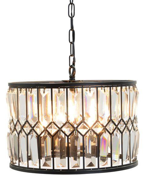 Classichome Interior Design: Drum Pendant Lighting Dining Room, Round