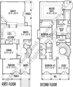 This narrow two story inner city urban house plan has 2858 ... on small lot house plans, narrow lakefront house plans, historic urban house plans, modern passive solar house plans, narrow homes, family home plans house plans, city house plans, shallow house plans, urban infill house plans, small urban house plans, row house plans, long narrow house plans, narrow house plans for narrow lots, narrow 4 bedroom house plans, long narrow floor plans, narrow modern house, triplex home plans, three-story urban house plans, narrow small cottage house plans,
