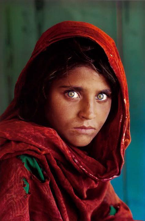 Beautiful   Afghan girl, Steve mccurry, Famous photographs