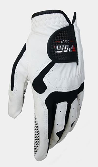 21++ Black left hand golf glove information
