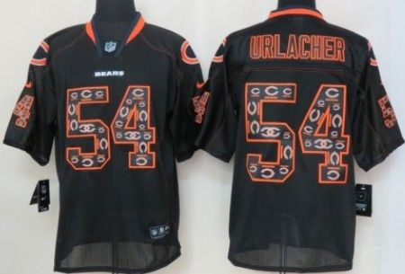 fc924cb4192 inexpensive limited player nfl jersey nike chicago bears 54 brian urlacher  blue with orange c patch