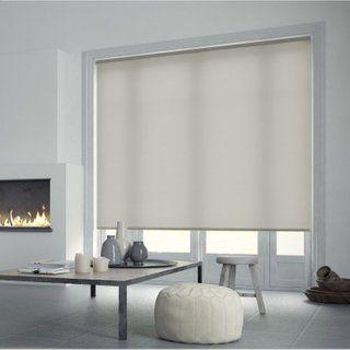 Store Enrouleur Tamisant Blanc Ivoire N 5 L 120 X 250 Cm Store Enrouleur Stores Blancs Chambre Design