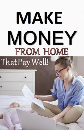 Make Money From Home In Free Time Make Money From Home Money From Home Mom Jobs