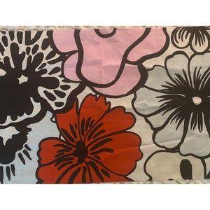 "Marimekko ""Elakoon Elama"" 100% cotton fabric, 24""x56"""