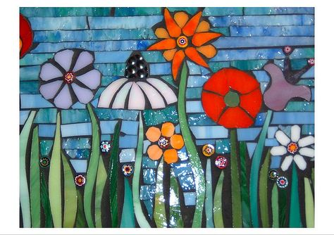 all the flowers in a row detail by jaboopee, via Flickr
