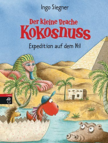 Der kleine Drache Kokosnuss - Expedition auf dem Nil  (Die Abenteuer des kleinen Drachen Kokosnuss, Band 24) von Ingo Siegner http://www.amazon.de/dp/3570159787/ref=cm_sw_r_pi_dp_0Uh1wb17GEPG4