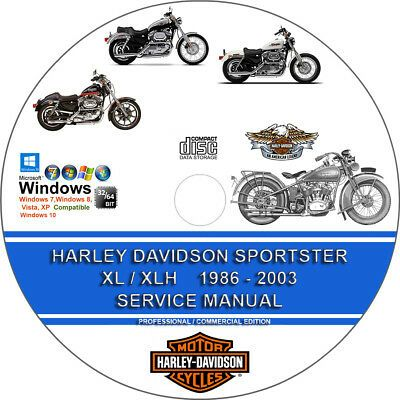Advertisement Ebay Harley Davidson Sportster Xl Xlh All Models 2001 2002 2003 Service Repair Manual Harley Davidson Sportster Harley Davidson Sportster