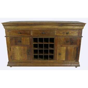 Guglielmo 51 Wide 4 Drawer Sideboard Sideboard Wine Buffet Furniture