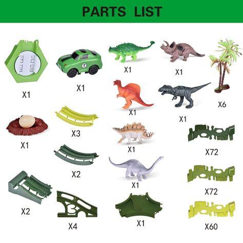 Dinosaur Paradise Track Set