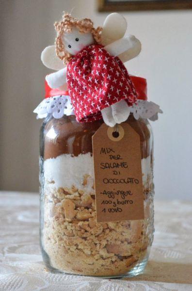 Bien-aimé Ricette in barattolo: il salame di cioccolato | Regali di natale  MI08