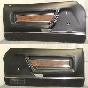 71 72 73 Boss 351 Mustang Mach 1 Grande Deluxe Door Panels Nice Orig Mustang Mustang Mach 1 Ford Mustang Boss