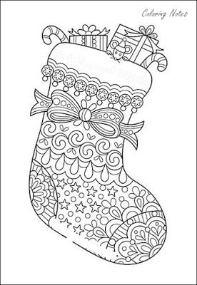 Best Christmas Stocking Coloring Pages For Adults Coloring Pages Christmas Stockings Christmas Colors