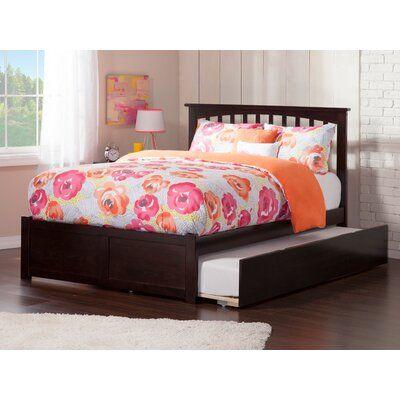 Viv Rae Wasilewski Platform Bed With Trundle Bed Frame Color