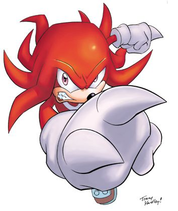 knuckles the echidna |     Art » Knuckles the Echidna