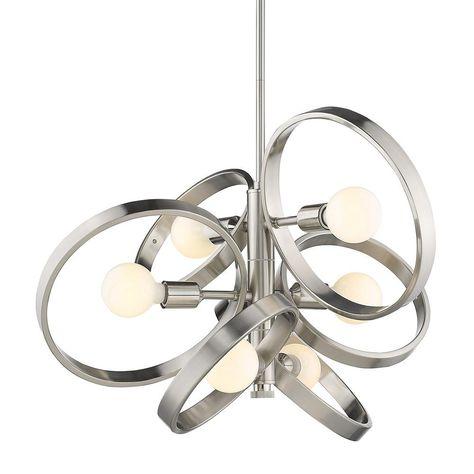 Cedillo 8 Light Sputnik Geometric Chandelier