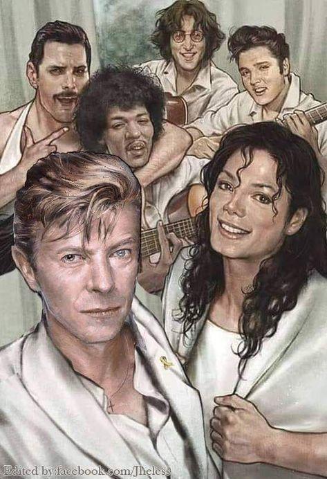 Weekly Inspiration Dose #058 - Indieground Design  #graphicdesign #design #art #inspiration #music Freddie Mercury | John Lennon | Elvis Presley | Jimi Hendrix | Michael Jackson | David Bowie