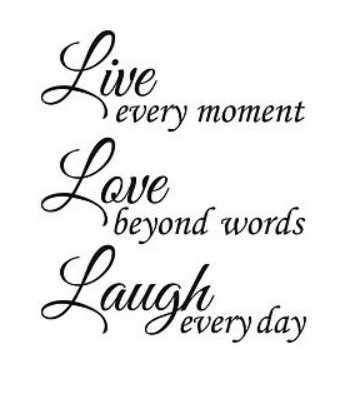 Live, Laugh, Love Adhesive Vinyl