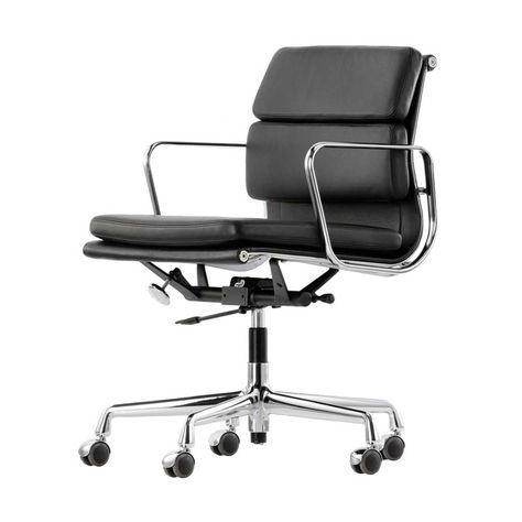 Eames Bureaustoel Vitra.Vitra Soft Pad Chair Ea 217 Bureaustoel Bureaustoel Stoelen Eames