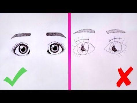 Kak Narisovat Glaza Urok Risovaniya Osnovnye Oshibki Kak Nauchitsya Risovat Youtube Art Lessons Dolls Handmade Eye Sketch