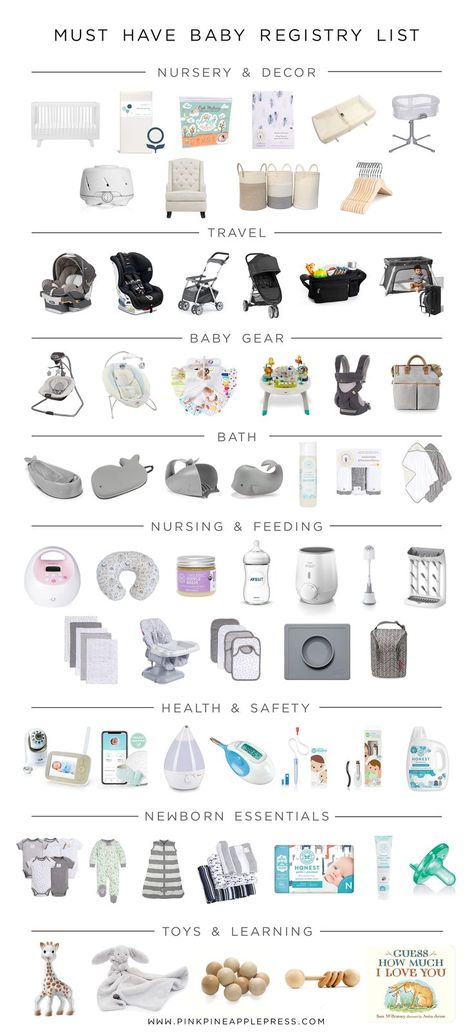 Must Have Baby Registry List! This is a complete list of baby essentials for first time moms. This is a comprehensive list of baby registry must haves! I have compiled a complete baby registry list th Baby Registry Essentials, Best Baby Registry, Baby Registry Items, Baby Registry Must Haves, Baby Registry Checklist, List Of Baby Essentials, Baby Registry Amazon, Newborn Baby Essentials, Buy Buy Baby Registry