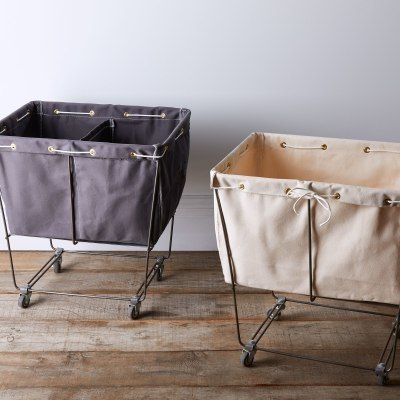 Ditch Your Old Laundry Hamper For These Stylish Picks Diy Laundry Basket Laundry Hamper Canvas Laundry Hamper