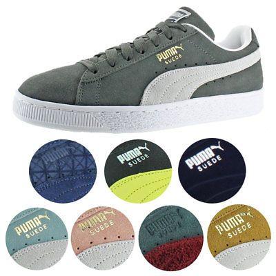 Puma Gamuza Clásico Para hombres Zapatos Tenis De Moda ...
