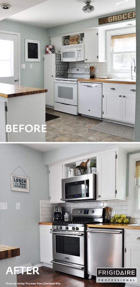 Cherishedbliss Upgraded Her Kitchen With The Frigidaire Professional Appliance Collection 5 Burner Gas Ra Kitchen Inspirations Kitchen Remodel Kitchen Design