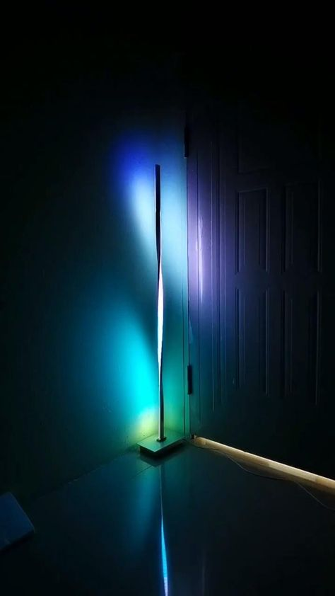 Led Ceiling Lights, Room Lights, Shoe Storage Design, Led Floor Lamp, Led Lamp, Corner Lamp, Cool New Gadgets, Cool Illusions, Home Lighting Design