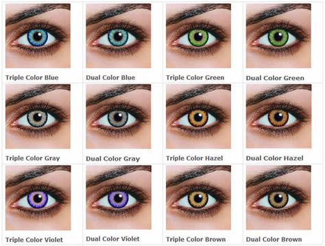 Non Prescription Colored Contacts >> Pinterest