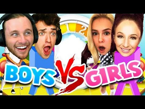 awesome GIRLS VS BOYS: THE GAME OF LIFE!!
