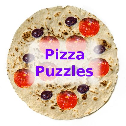 Pizza Puzzles - how good are you at cutting a pizza?