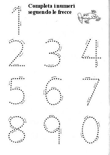 Giochiamo con i numeri | MAMMA E CASALINGA