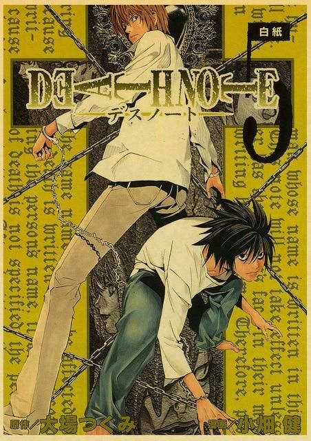 Death Note Posters Retro Posters - Q027 23
