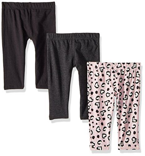 Limited Too Girls 3 Pack Cotton Spandex Legging