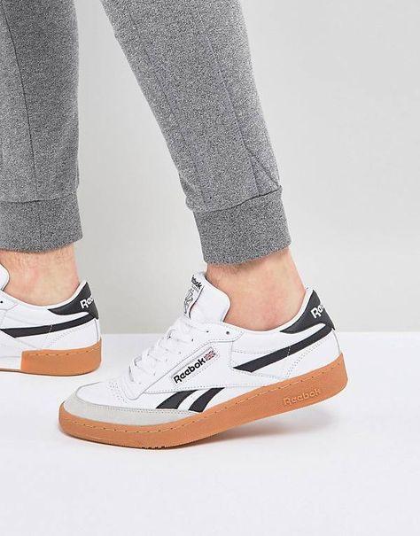 Reebok Revenge Plus Gum Sneakers In