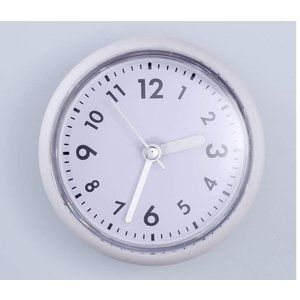 Baldr 防水時計 吸盤カップ シャワーデジタルクロック お風呂 キッチン バスルーム時計 ウォータープルーフ掛け時計 簡易日本語取扱説明 掛け時計 クロック 吸盤