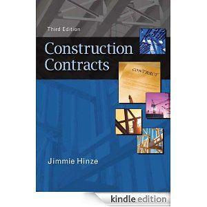 Construction Contracts  Kindle Edition By Jimmie Hinze