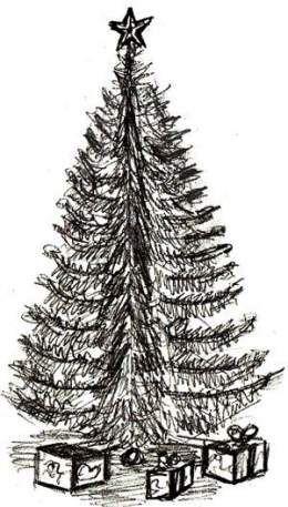 29 Ideas Drawing Christmas Trees Realistic Tree Drawings Pencil Christmas Tree Drawing Tree Drawing