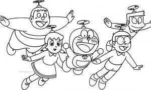 Doraemon Bratz And Friends Flying Coloring Page Http Wecoloringpage Com Doraemon Bratz And Owl Coloring Pages Puppy Coloring Pages Geometric Coloring Pages