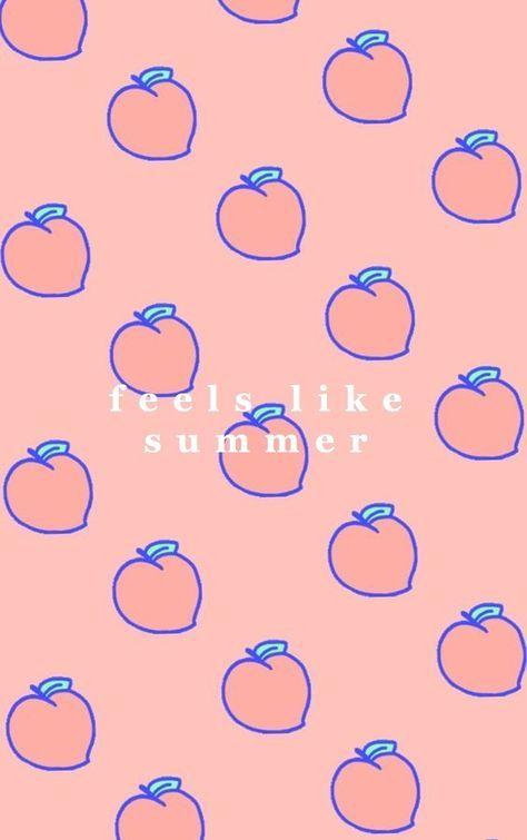 67 Ideas Kawaii Wallpaper Pastel Peach For 2019 Peach Wallpaper Pastel Background Wallpapers Summer Wallpaper