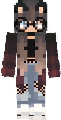 Cute Hd Girl In 2020 Cat Girl Minecraft Skins Animals Minecraft Skins Aesthetic