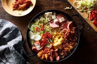 Budae Jjigae Army Base Stew Recipe On Food52 Recipe Eat Food Recipes