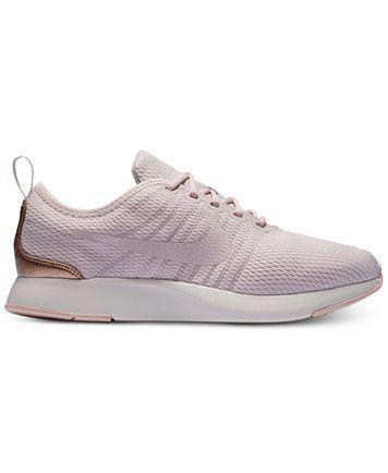 Nike Dualtone Racer Casual Sneakers In Millenial Pink Rose Gold