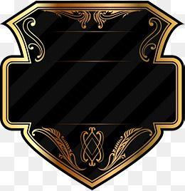 Geometry Golden Badge Decorative Pattern No Dig Png Sign Decorative Pattern No Dig Png Geometric Clipart Gold Clipart Badge Seni Kontemporer Logo Keren Bingkai