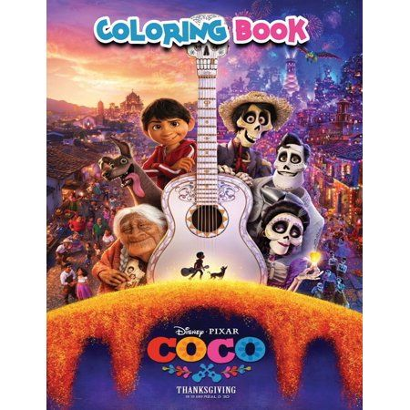 Coco coloring book (Paperback)