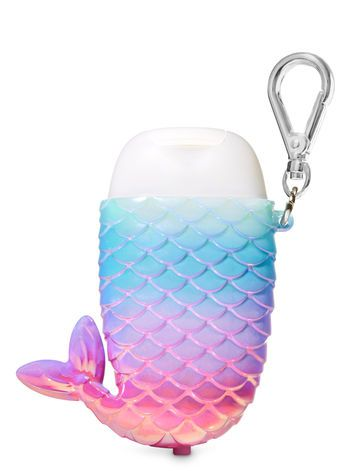 Ombre Mermaid Tail Light Up Pocketbac Holder Bath Body Works