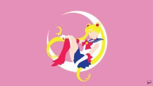 Sailor Moon Minimalist Wallpaper By Greenmapple17 Sailor Moon Wallpaper Sailor Moon Tumblr Sailor Moon
